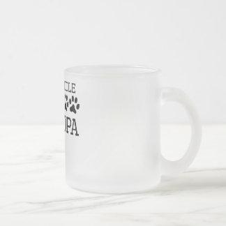 Labradoodle Grandpa Frosted Glass Coffee Mug
