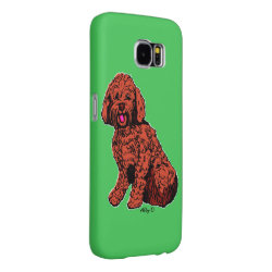 Case-Mate Barely There Samsung Galaxy S6 Case with Labradoodle Phone Cases design