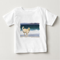 Labradoodle - Happy Day on the Beach Baby T-Shirt