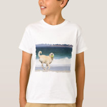 Labradoodle - Happy Day on the Beach T-Shirt