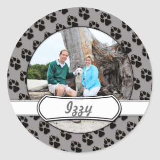 Labradoodle - Izzy Round Stickers