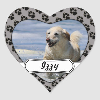 Labradoodle - Izzy Heart Stickers