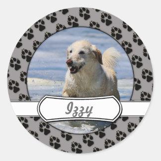 Labradoodle - Izzy Round Sticker