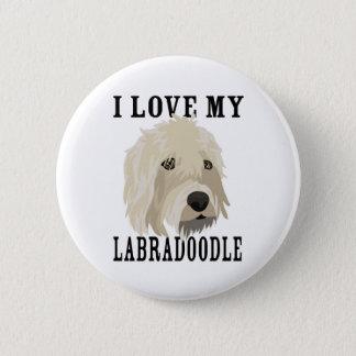 Labradoodle love! button