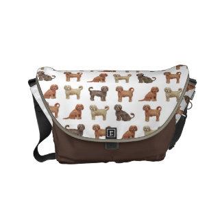 Labradoodle Love Large Messenger Bag