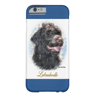 Labradoodle Lovers Art Gifts Barely There iPhone 6 Case