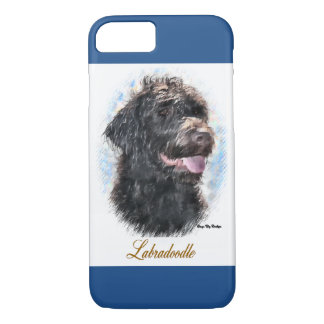 Labradoodle Lovers Art Gifts iPhone 8/7 Case