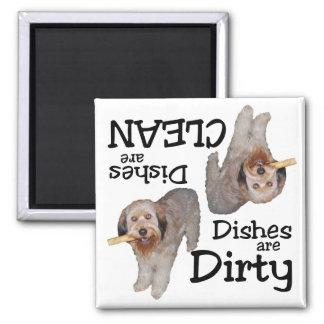 Labradoodle Lovers Dishwasher Magnet