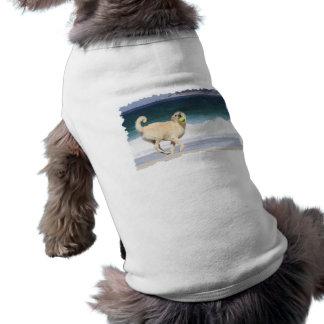 Labradoodle - Marilyn Monroe de la playa Playera Sin Mangas Para Perro