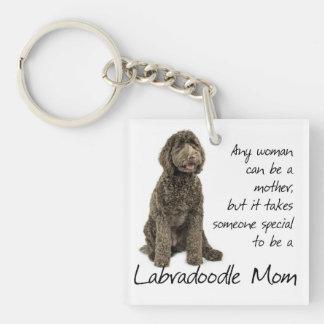 Labradoodle Mom Keychain