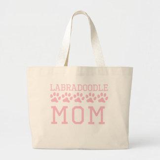 Labradoodle Mom Large Tote Bag