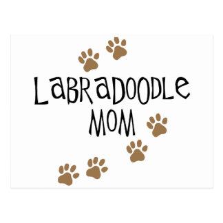 Labradoodle Mom Postcard