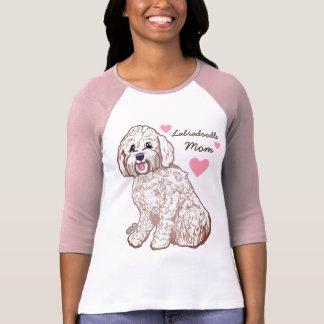 Labradoodle Mom Women's Raglan T-Shirt