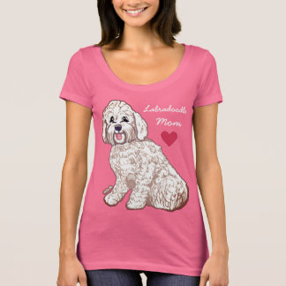 Labradoodle Mom Women's Scoop Neck T-Shirt