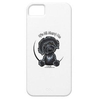Labradoodle negro IAAM Funda Para iPhone SE/5/5s