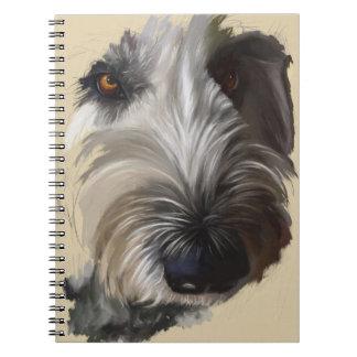 Labradoodle Notebook - Original Artwork