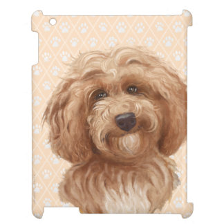 Labradoodle Paw Dog iPad Cover | Labradoodle Love