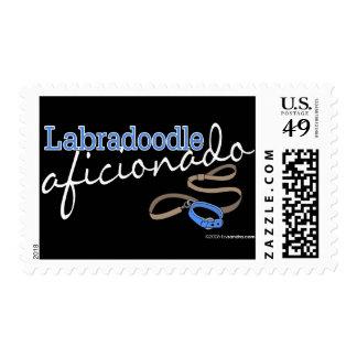 Labradoodle Postage Stamp