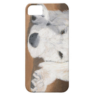 Labradoodle Pup iPhone SE/5/5s Case