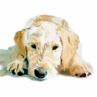 Labradoodle Pup Sculpture