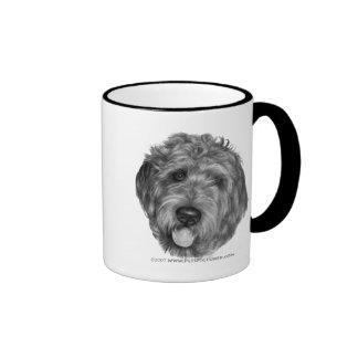 Labradoodle Ringer Coffee Mug