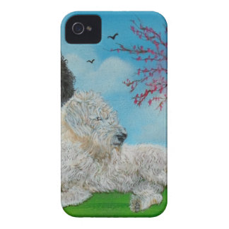 Labradoodle Spring iPhone 4 Case