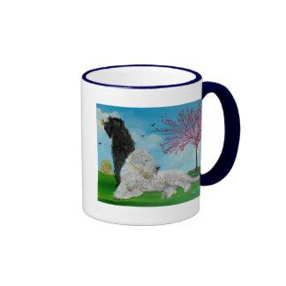 Labradoodle Spring Ringer Coffee Mug
