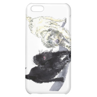 Labradoodle Stretch Cover For iPhone 5C