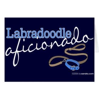 Labradoodle Tarjeta De Felicitación