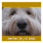 Labradoodle Thoughts Posters