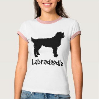 Labradoodle w/ Cool Text T-Shirt