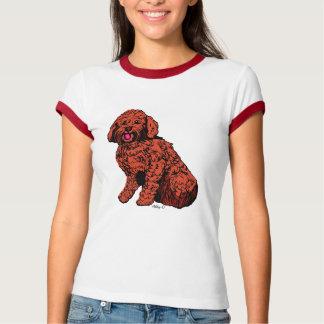 Labradoodle Women's Bella Ringer T-Shirt