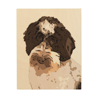 LABRADOODLE WOOD WALL DECOR