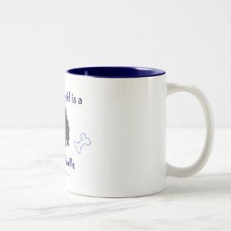 LabradoodleBlack Mug