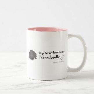 LabradoodleBlackBrother Taza De Café