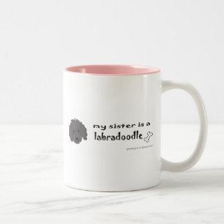 LabradoodleBlackSister Taza De Café