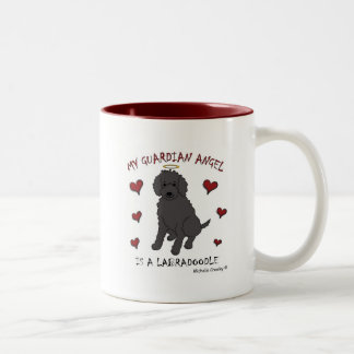 LabradoodleBlk Tazas De Café
