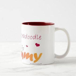 LabradoodleChoco Tazas De Café