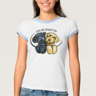 Labradoodles Black Yellow IAAU Shirt