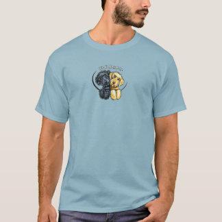 Labradoodles Black Yellow IAAU Sm T-Shirt