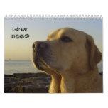 Labrador 2009 calendar