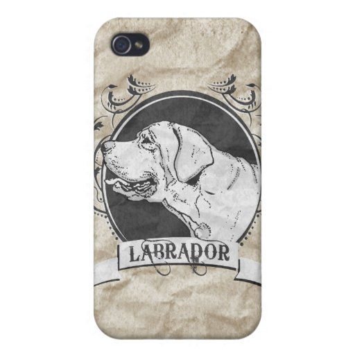 LABRADOR (2) iPhone 4/4S COVER