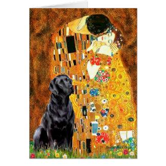 Labrador 4 (black) - The Kiss Card