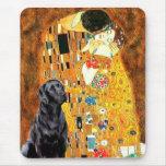 Labrador 4 (black) - The Kiss Mouse Pad