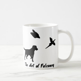 Labrador and Falconry Coffee Mug