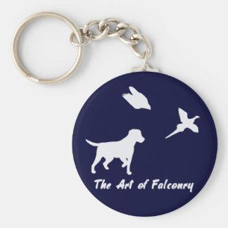 Labrador and Falconry Keychain