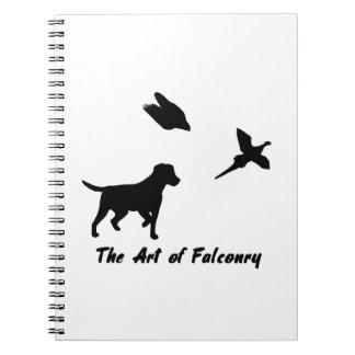 Labrador and Falconry Notebook