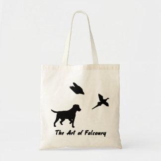 Labrador and Falconry Tote Bag