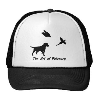 Labrador and Falconry Trucker Hat