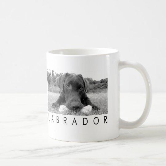 Labrador B&W Coffee Mug